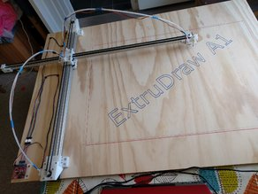 ExtruDraw Extrusion-based Plotter