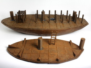 OpenForge Pirate Ship: Lower Hold