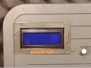 LCD Faceplate 20x4 for Tastic RFID Thief by Bishop Fox