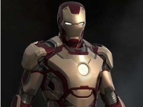 Iron Man wearable helmet Mark 42  Mk 42