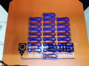 Simple key carabiner