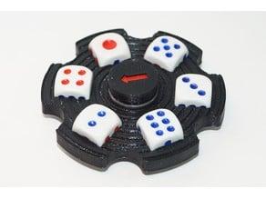 Hand spinner random number generator