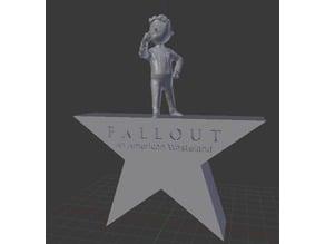 Fallout Hamilton Crossover Statue