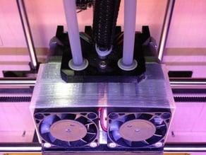 Dual Extruder Fan Shroud