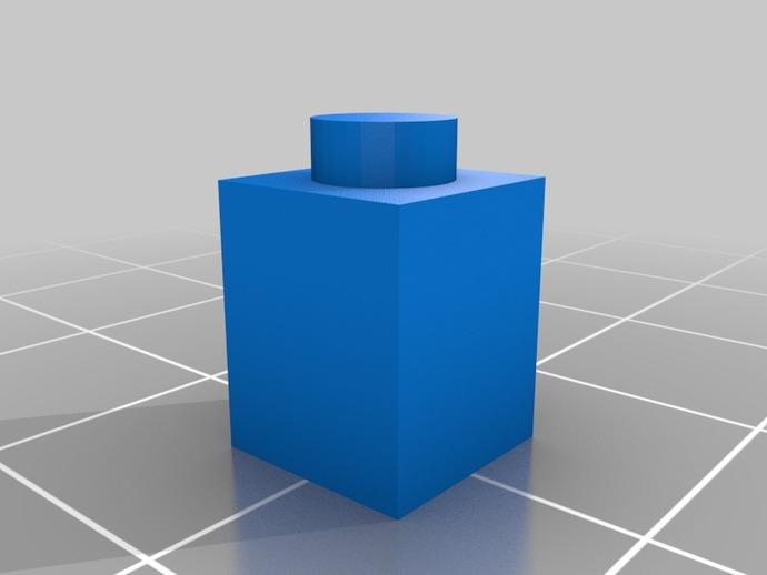 1x1 Lego Brick by Raistlin82 - Thingiverse