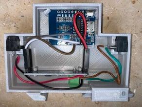D1 Mini DIN Rail Case 1TE, RS485