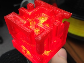 maze cube for calibration