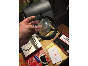 Magnifying Glass Lamp Lens Ring