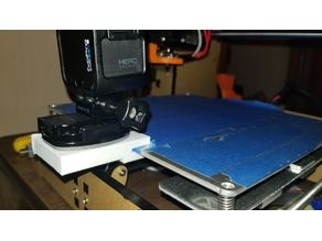 Anet a8 heatbed clip for cameras.