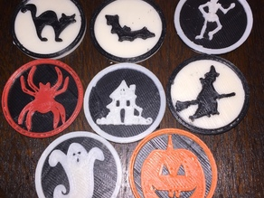 Halloween Medallion Collection