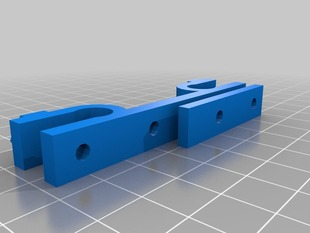 Stop End for X with  3mm Spacer ( Prusa Air 2 )
