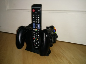 Xbox and TV controller holder