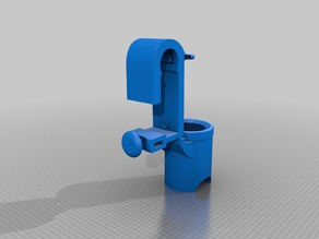 V5 FINAL (- 5H00 OF PRINT FOR 20%) SKIMMER+ADJUSTABLE Stabilizer for INTEX and BESTWAY POOL SWIMMING ( D=49 mm)