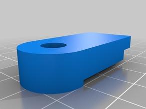 Kossel 800 170mm glass print bed fixture