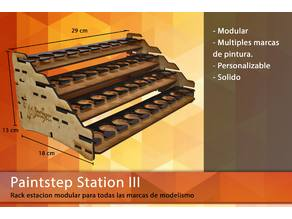 Paintest station - Modular hobby paint system