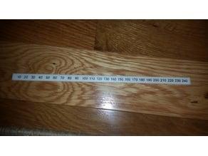 Pergo Metrc Ruler (in mm)