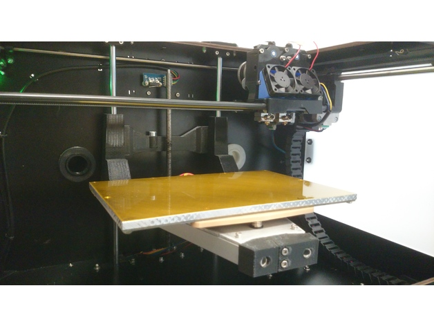 Three Point Printer Bed Frame for CTC Bizer (Replicator Clone