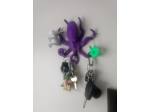 Octopus key holder