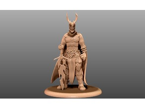 Demonic Warrior - Tabletop Miniature