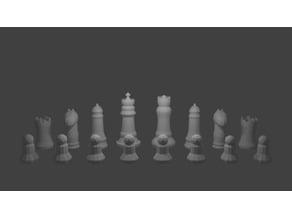 Blender Chess Set