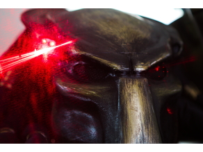Predator Mask Laser Diode mount