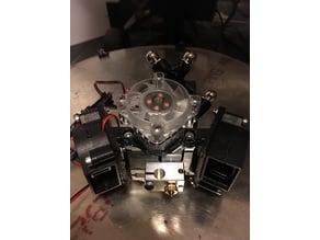 Pelvic Titan Aero Dual 40mm Blower Fan Mount (optional ducts)