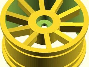 Parametric RC Car Wheel