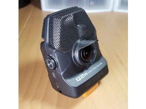 Lens hood for Zoom Q2n Handy Video Recorder