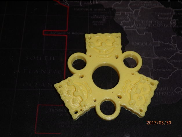 Spongebob Fid Spinner Wingnut2k 1 by wingnut2k Thingiverse