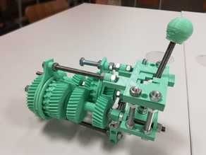 Cambio ad H - Four speed gearbox with H shifter
