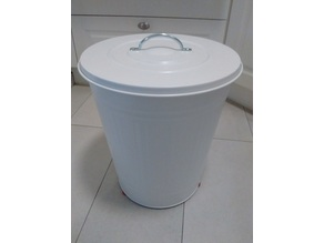 Feet for Ikea KNODD bin (40L) - No more scratches on the floor!