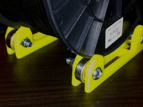 Filament Spool Holder Roller Stand Designed for 608Z bearings.
