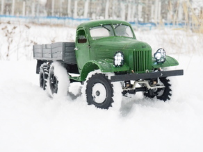 ZIL-157  - RC truck with the WPL transmission