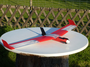 "Speedy ""Red Swept Wing"" RC"