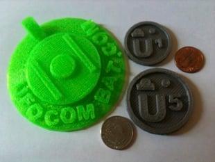 UFO Combat Unoctium coins 1