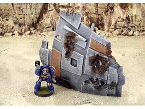 Shipwreck terrain
