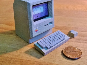 Mini Apple Macintosh
