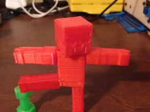 Magnetic Joint MineCraft Steve