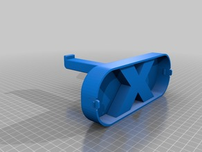 XYZ printing window spool mount