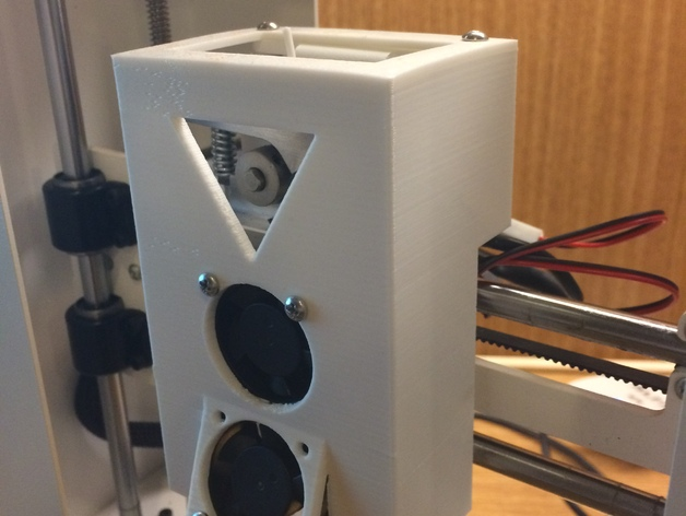 Printrbot Play Shield with with view for filament.