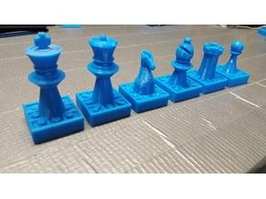Beginner Chess Pieces