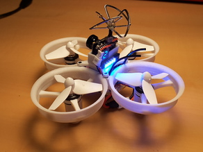 Tiny Whoop 68mm polycarbonate cross fashion