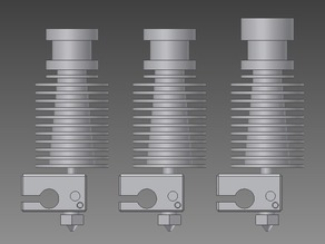 E3D V6 HotEnd CAD Models (Includes all 3 versions)