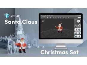 Low Poly Santa Claus