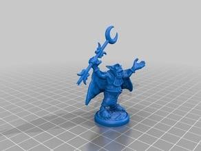 Orc Warlock - cloak resculpt for resin printing