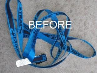 Customizable Cargo strap clip