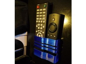 Remote holder for fire tv
