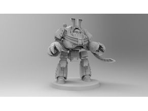 1KSons Demon Prince Contemptor Dread with Wings/Jet Pack