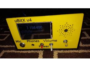 uBitX case with Nextion 3.2 and speaker grille
