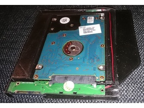 HDD Caddy for the slim CD/DVD bay